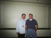 With Tony Boswell.