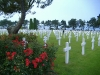 American cemetery at Normandy Beach.