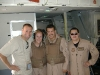 with C-130 flight crew.