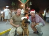 Christmas in Djibouti, Africa. At least someone in this photo still has their dignity.