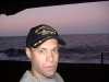 On the USS Harry S Truman. I really only did it for the hat.
