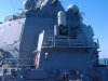 Performing on board the destroyer USS Winston Churchill a mere 5 miles from Iranian waters. I purposely kept the crowd really bored so they could ignore me and keep watch on the enemy. Good plan, eh?