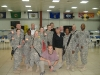 With some members of the 101st Airborne from Fort Campbell, based near Nashville.